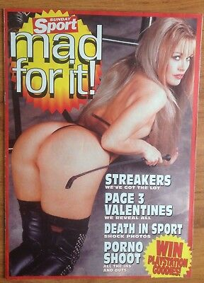 Mad For It. Sunday Sport Feb 98.