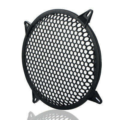 "UK 1Pcs 6"" Inch Plastic Grill Waddle Speaker Sub Woofer Speaker Grills Protector"