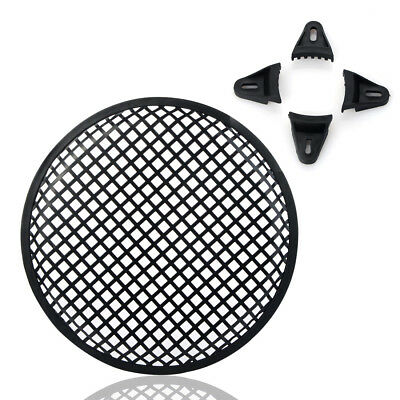 "UK 12"" inch Vehicle Audio Speaker Sub Woofer Grill Metal Cover Protector Net"