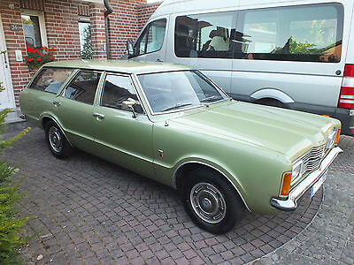 Ford Taunus Turnier XL 1972 Knudsen Originallack Optisch Technisch TOP PLZ 48329