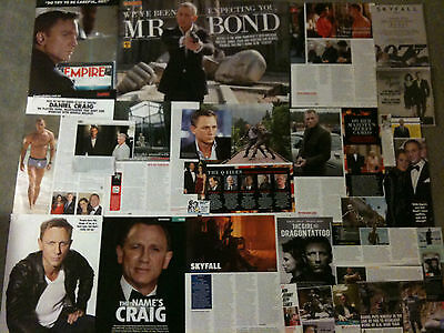 DANIEL CRAIG- Over 20 clippings - James Bond