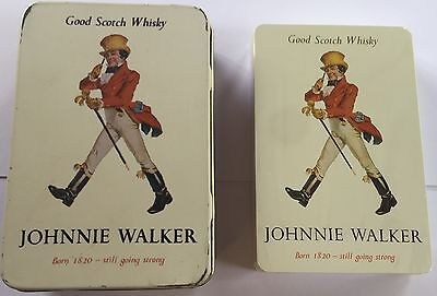 Johinne Walker Scotch Whisky 52 playing cards still sealed