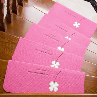 5 PCS Night Luminous Glowing Staircase Stepping Mat Non-slip Self-adhesive Pad