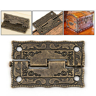 classic style Cabinet Door Hinges 10pcs Bronze Wooden Box Vintage Decorative