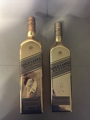 Johnnie Walker Scotch Whisky Double Gold Bullion Rare 750ml & 1L