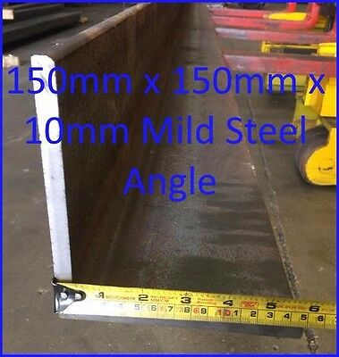 Mild Steel Angle 150mm x 150mm x 10mm - 4565mm long Angle Iron RSA