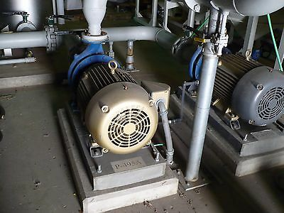Filtered Water Pump by Carver Pump, Baldor. SuperE. 40HP - store closing sales