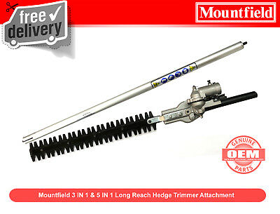 Mountfield Hedge Trimmer Attachment Articulated Expand-It Long Reach