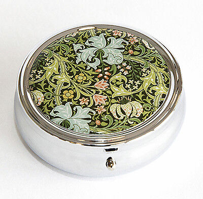 William Morris Golden Lily Pill Box - Made in Scotland