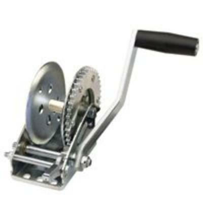 Reese 74419 Hand Winch With No Strap, 1,300 lbs