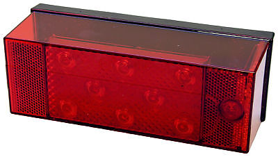 Peterson V856 Stop/Turn/Tail Light w/o License LED Light, Red