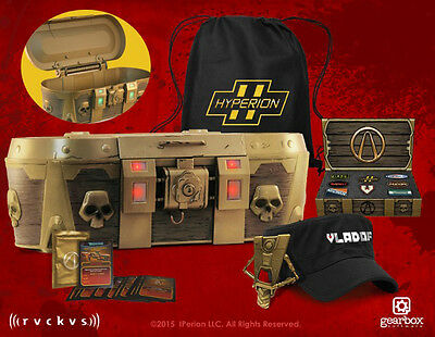 Borderlands Level 50 Swag Filled Limited Collector's Edition Golden Loot Chest