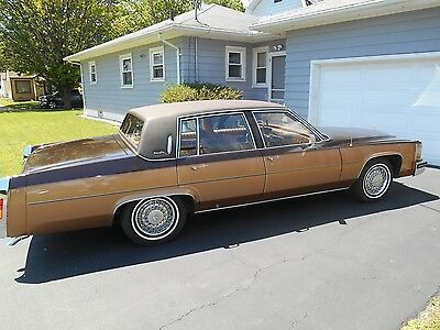 1980 Cadillac DeVille  Classic 1980 Cadillac Sedan DeVille Boss Hogg Chocolate Peanut Butter Cup 2 Tone