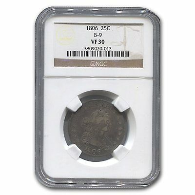 1806 Draped Bust Quarter VF-30 NGC - SKU#133131