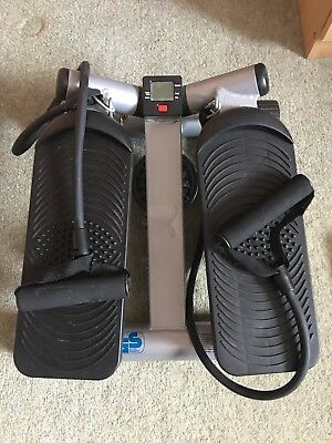 Exercise Stepper with Arm Resistance Straps