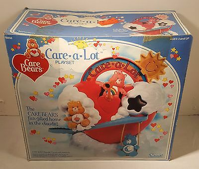 Care Bears Care A Lot Playset From 1983 (MINT IN THE BOX)