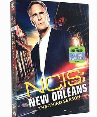 NCIS New Orleans Season 3 (DVD, 2017, 6-Disc Set) Brand New Sealed