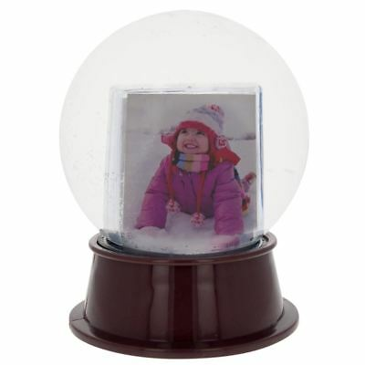 "5.5"" Insert your Own Picture Frame Snow Globe"