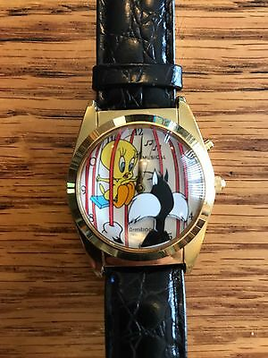 Collectible Tweety Bird and Sylvester the Cat Watch