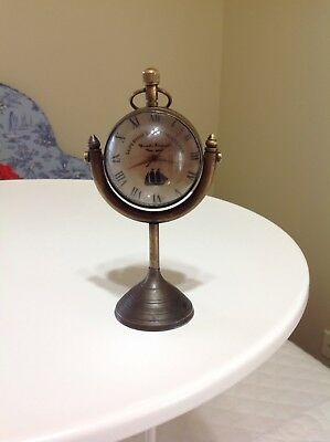 Superior Ship Timekeeper 5.5 Inch 2 Convex Lens Covers Well Made Jeweled
