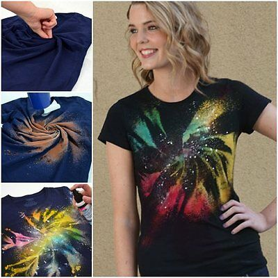 Fabric Spray Paint Tulip Permanent Art Craft T-Shirt Textiles Pack Of 4 7 9 Pack