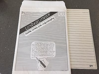 Underliners - Calligraphy Guide Lines - Complete Set - Free Shipping