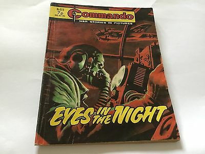 1975 Commando War Stories Comic No 914 Eyes In The Night