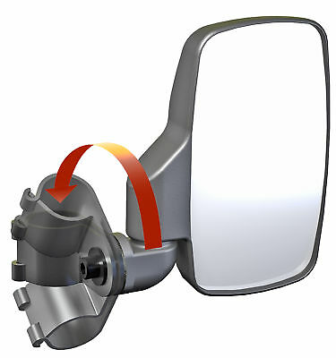 "Seizmik Universal UTV Side View Mirrors For 2"" Roll Cage"