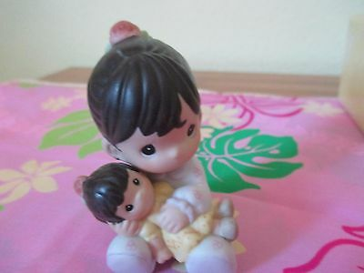 Precious moments Jesus Loves Me Hispanic Girl New with tags and box RARE