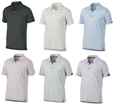 adca48f0a7 Oakley GRAVITY Polo Mens Golf Shirt 2018 Multiple Colors   Sizes 433696