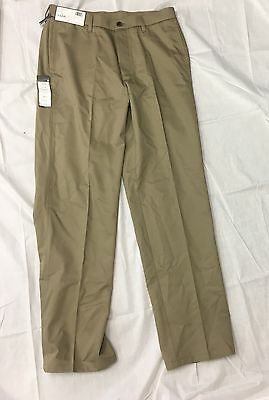 bb4956d4e3a New NWT Haggar H26 Classic Fit Comfort Waist Twill Taupe Khaki Size 34x34  Pants