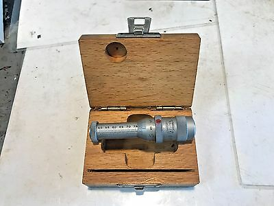 Mauser Metric Gen 1 Inside Micrometer 50-75mm, Machinist, Free Shipping