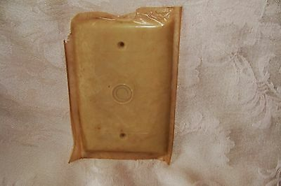 Sierra Cable Plate Cover New Old Stock Cream Off White