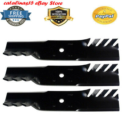 3 Pack USA Mower Blades Replacement Lawn Mower Blades for Bad Boy Made in USA