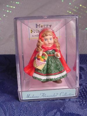 "NEW Little Red Riding Hood HALLMARK MERRY MINIATURE Madame Alexander 2"" w bx"