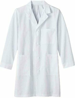 META Labwear Men's 5-Pocket Twill; Lab Coat White - 50 Long