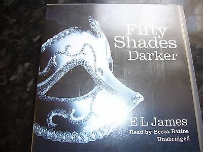 Audio Book E L James Fifty Shades Darker 16 Cds Unabridged 20 Hours Approx