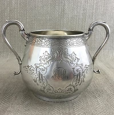 Antique Silver Plated Urn Pot Vase HAWKSWORTH & EYRE Victorian