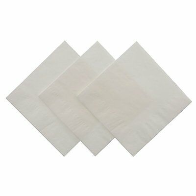 Royal White Beverage Napkin, Package of 200