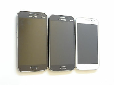 Lot of 3 Untested Samsung Galaxy Win Duos GT-I8552 GSMUnlocked Smartphones AS-IS