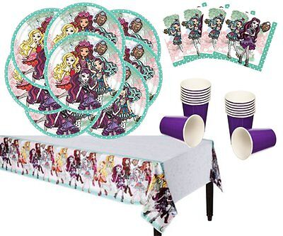 Ever After High Party Deluxe Party Supply Bundle for 16 Guests