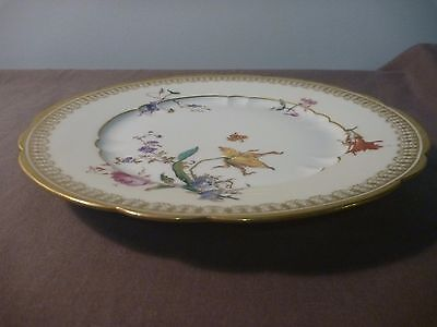 Hand Painted Haviland and Co Limoges Plate.