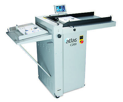New Formax Atlas C200 Automatic Creaser Folder and Perforator Fully Automatic