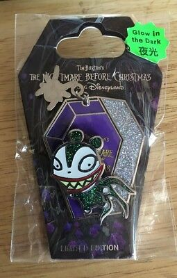 RARE HKDL 2014 Nightmare Before Christmas Series Scary Teddy LE 500 Pin