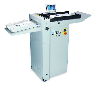New Formax Atlas C100 Automatic Creaser Folder and Perforator Fully Automatic