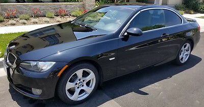 2009 BMW 3-Series  2009 328i CI BMW Convertible Black Ext./Tan Int. Loaded Nav/Low Miles, New Tires