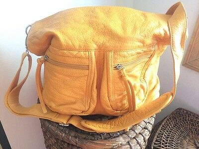 Epiphanie -Mustard Yellow -Fashionable Camera Bag w/ Original Dust Cover -Purse