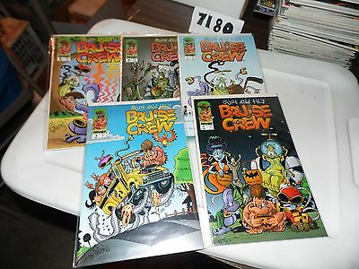 Lot of 5 Boof And The Bruise Crew #1 #2 #3 #4 and #5 Image Comics!
