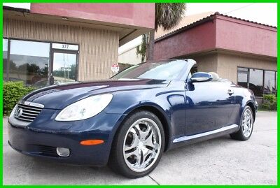 2002 Lexus SC 430 CONVERTIBLE FULLY LOADED CARFAX FLORIDA NO RES 2002 LEXUS SC430 CONVERTIBLE FULLY LOADED CARFAX FLORIDA NO RESERVE!