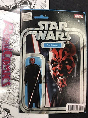 Star Wars Darth Maul #1 Comic Action Figure Variant NM Marvel Comics